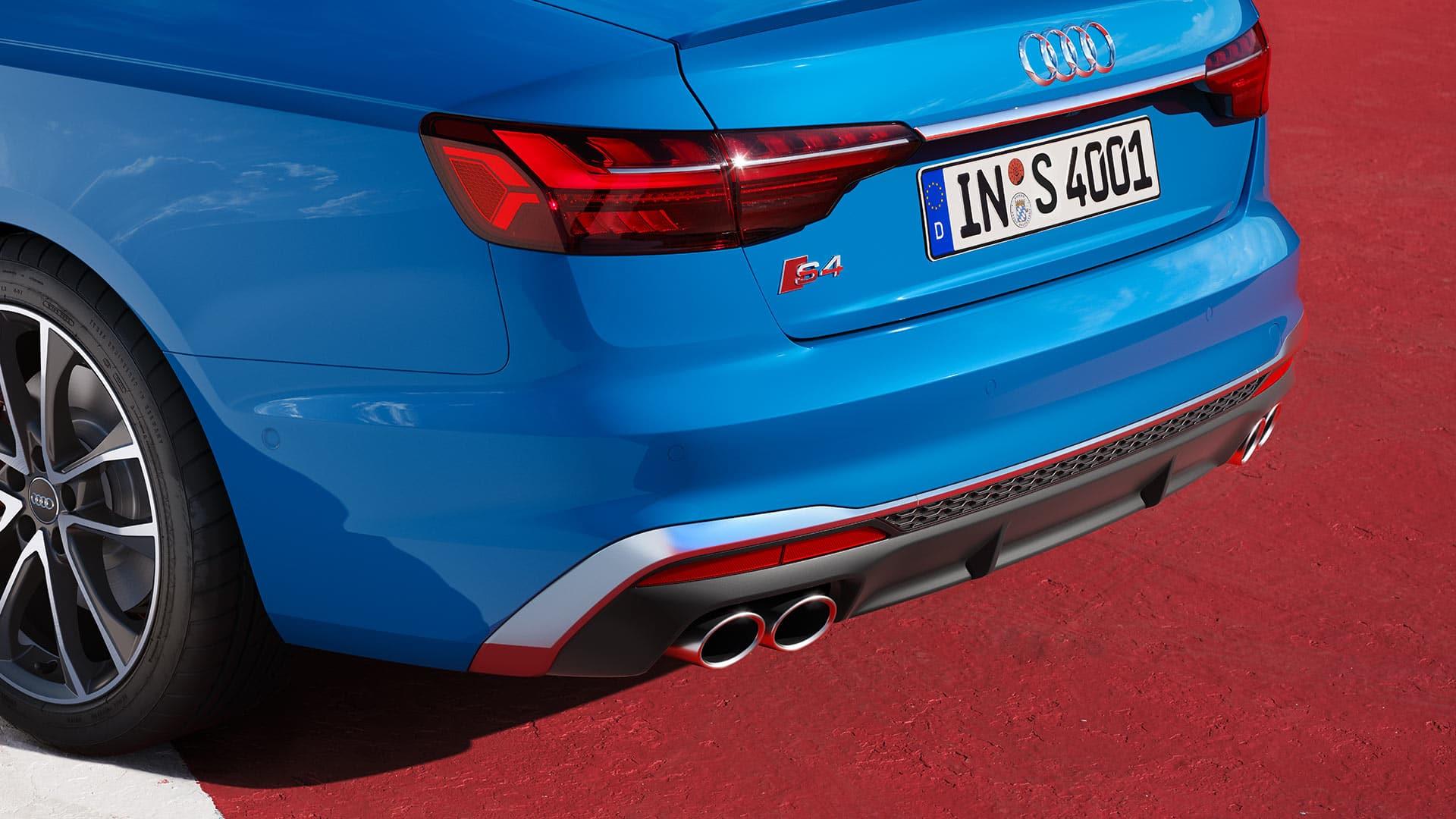 Audi S4 Saloon S diffuser