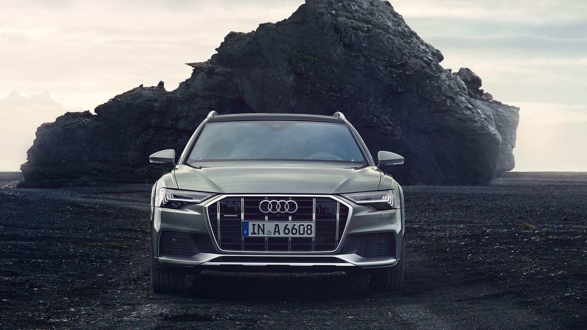Front view Audi A6 allroad quattro