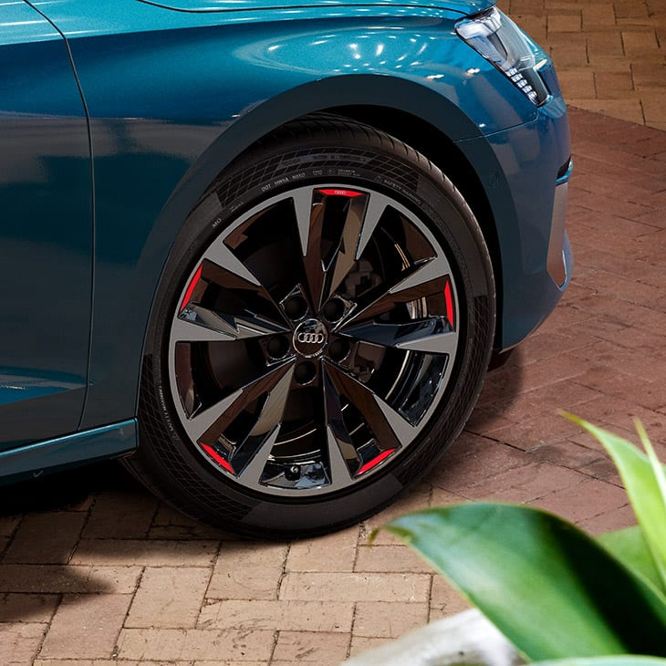 Alloy wheels of the Audi A3 Sportback