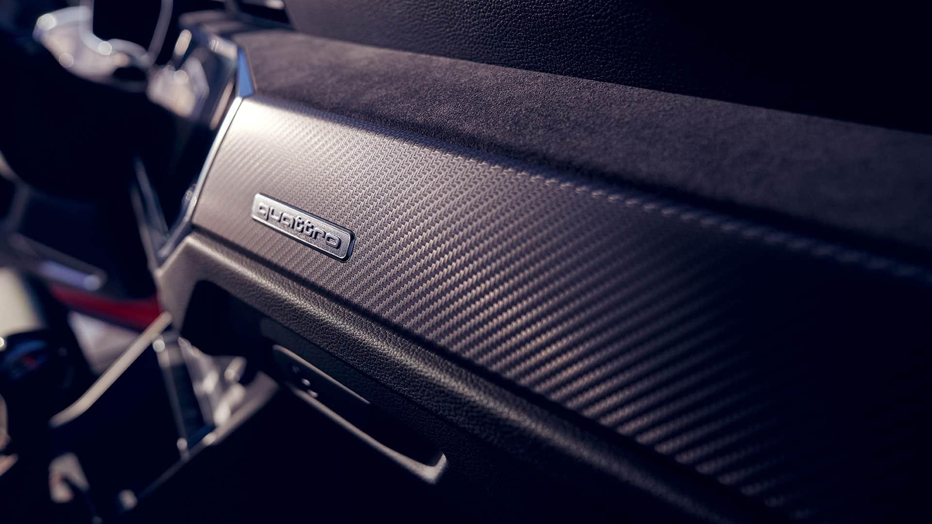 Interieur im Audi RS Q3 Sportback