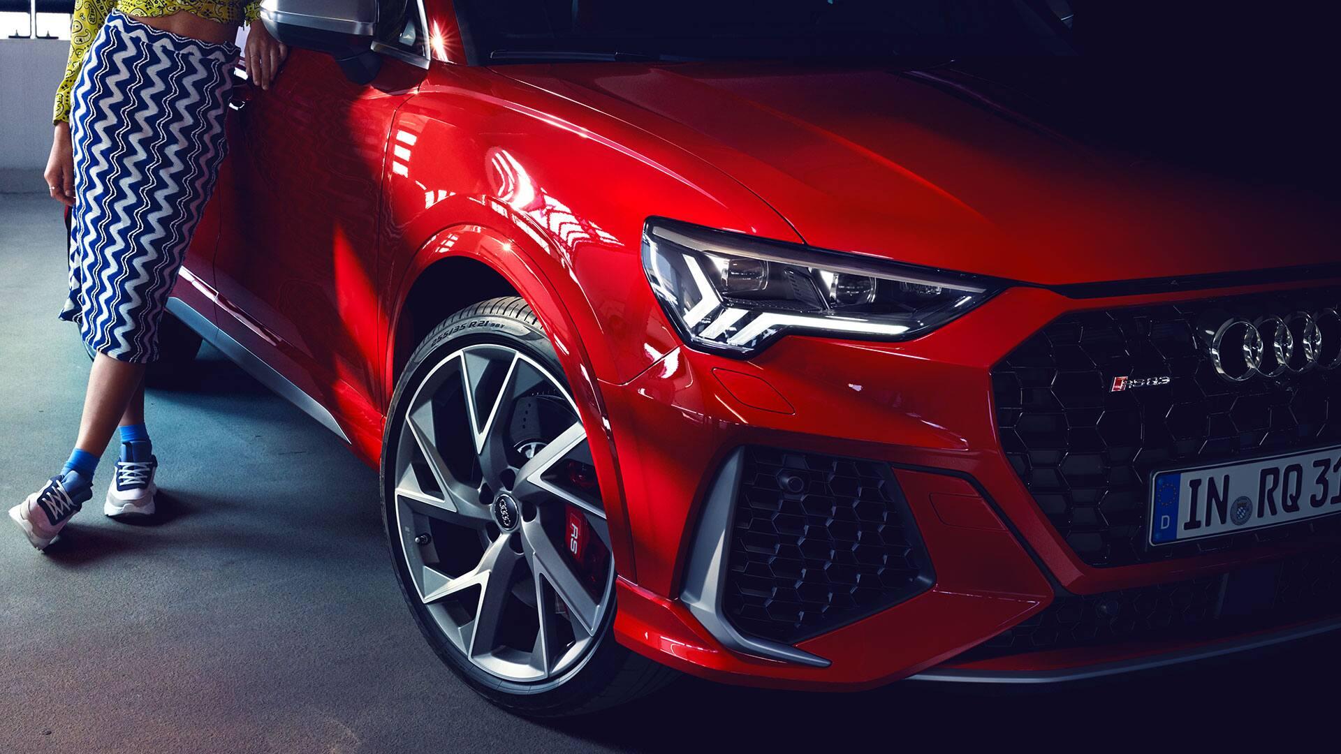 Der Audi RS Q3 in der Frontansicht